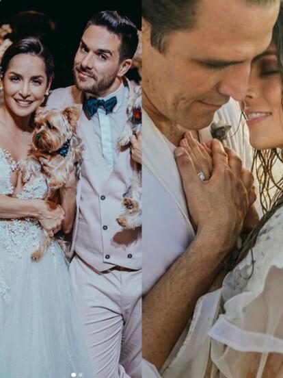 Estos famosos sellaron su amor con una emotiva boda, donde reunieron a sus seres queridos y amigos más cercanos. Conoce cuáles fueron los enlaces más románticos y emotivos de la última década.