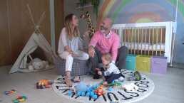 Érika Zaba da un tour por la nueva y colorida habitación de su bebé (VIDEO)