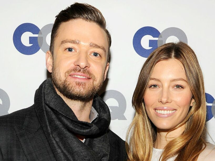 4. Justin Timberlake y Jessica Biel: Se tardaron, pero el cantante y la actriz se casaron después de 5 años.