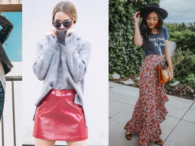 22 Tipos de faldas que no podrán faltar en tu guardarropa