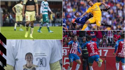 Estas son las mejores escenas de todos los partidos en la pasada Fecha 17 del futbol mexicano.