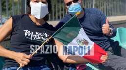 ¡Qué detalle! Mexicana sorprende a Chucky en práctica de Napoli