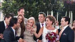 Héctor Sandarti recuerda su boda con fotos inéditas y famosos afirman: 'Fiesta inolvidable'