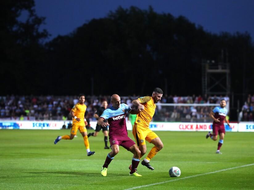 Newport County v West Ham United - Carabao Cup