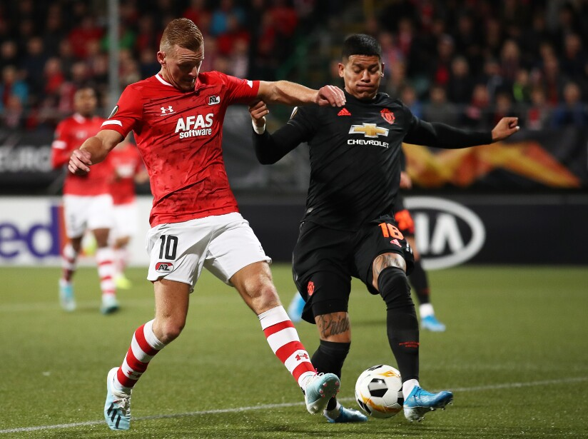 AZ Alkmaar v Manchester United: Group L - UEFA Europa League