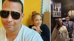 Jennifer Lopez quedó enamorada con el baile que protagonizó Alex Rodríguez