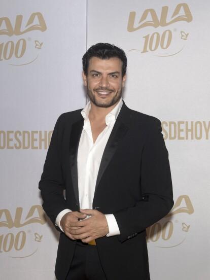 Andrés Palacios, protagonista de 'La Usurpadora', se presentó solo al evento de #HEROESDEHOY.