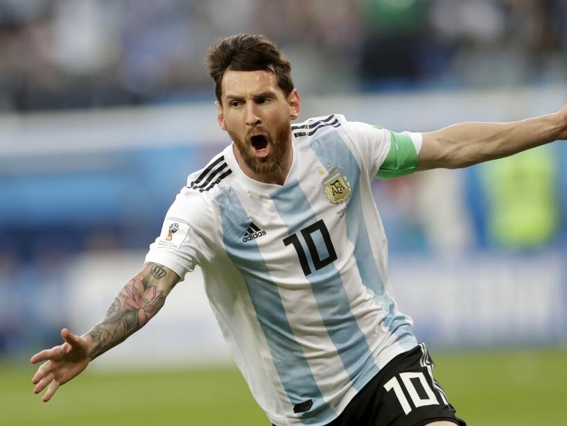 APTOPIX Russia Soccer WCup Nigeria Argentina