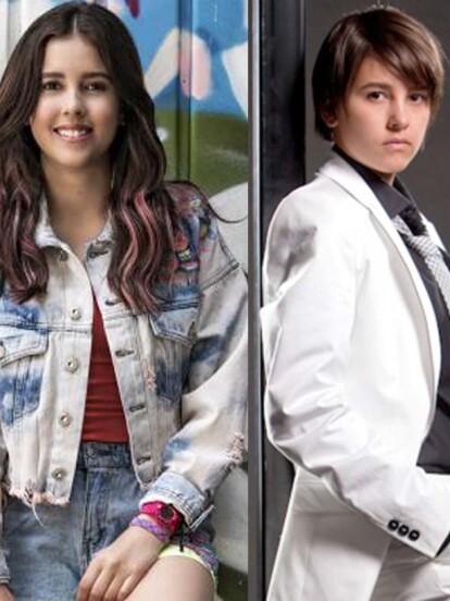 Paulina Goto hizo el doble papel de 'Andrea' y 'Andrés' cuando protagonizó 'Niña de mi corazón'.