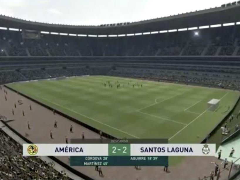 eLiga MX, Santos vs América, 1.png