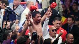 Las últimas peleas y Manny Pacquiao va para presidente