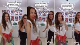 Thalía y Lili Estefan celebran su reencuentro con este bailongo: 'Te amo, mi flaca bella'