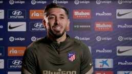 Héctor Herrera se confiesa 'triste' por poca actividad en el Atlético