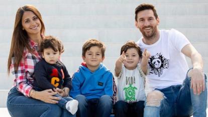 La casa de Messi está situada en el municipio de Castelldefels, Barcelona.