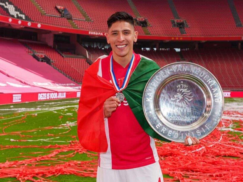 Edson Álvarez-Ajax-campeón