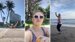 Mira de qué manera Erika Buenfil disfruta de sus vacaciones: 'Vida solo hay una, tareas un ch*ngo'