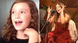 Mía Rubín revive video de su infancia cantando cover de Jesse & Joy y asombra al recrearlo con su actual voz