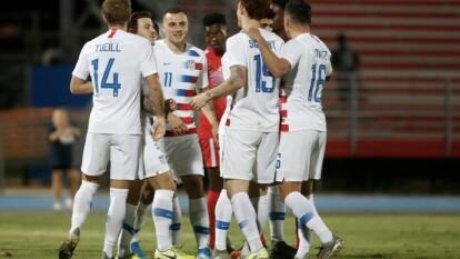 Con dobletes de Josh Sargent y Jordan Morris, Estados Unidos se impone 0-4 a Cuba.