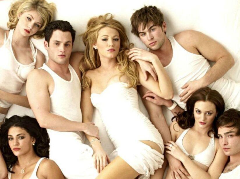 9. Gossip Girl: Seis temporadas (2007 a 2012). Retrato de la vida de adolescentes que van a colegios elitistas en NYC.