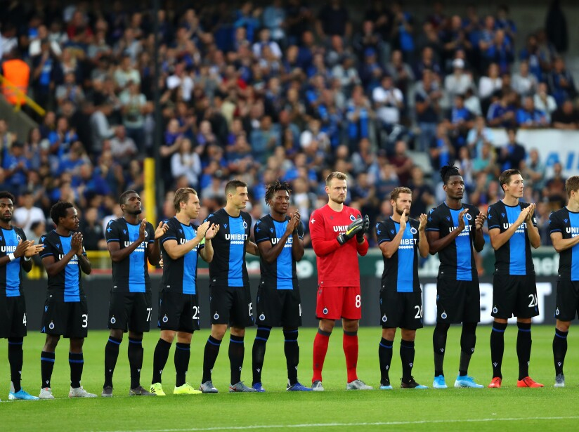 Club Brugge v Dynamo Kyiv - UEFA Champions League Third Qualifying Round: First Leg