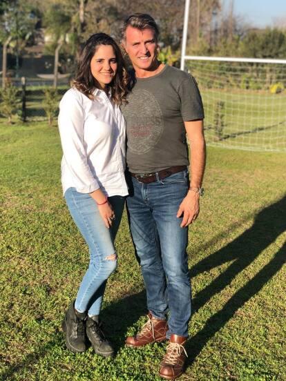 Juan Soler se suma a la lista de famosos que se convertirán en abuelos jóvenes y es que hace unos días su hija Valentina anunció que sería madre de una niña.