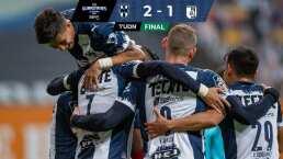 ¡Con 10! Monterrey derrota a Gallos con doblete de Funes Mori