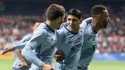 Reencuentro de campeones, Pulido y Almeyda se abrazan