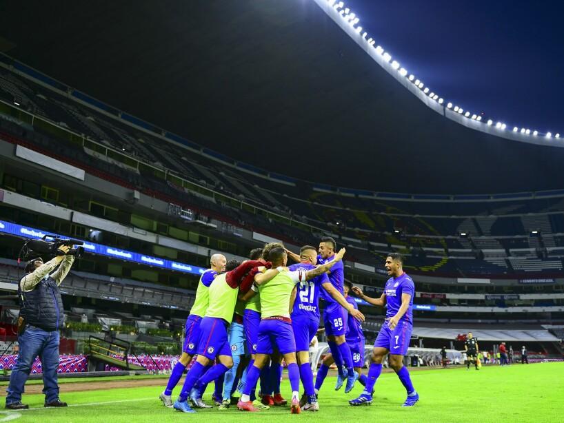 Liga BBVA MX Clausura GUARD1ANES 2021 Cruz Azul vs Guadalajara