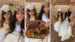Allisson Lozz muestra su talento en la fotografía y presume la belleza de sus hijas