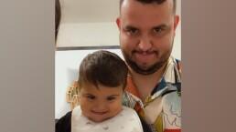 Edén Muñoz y su hijo, Emilio, enamoran las redes cantando a dueto PinPon
