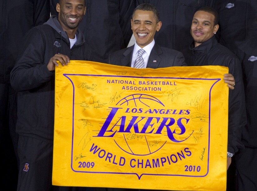Barack Obama, Kobe Bryant, Shanon Brown
