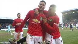 Manchester United avanza y Liverpool al 'replay' de la FA Cup