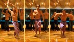 Sebastián Rulli protagoniza sexy baile sin playera junto a sus amigos y sus fans le dicen: ¡Presenta!