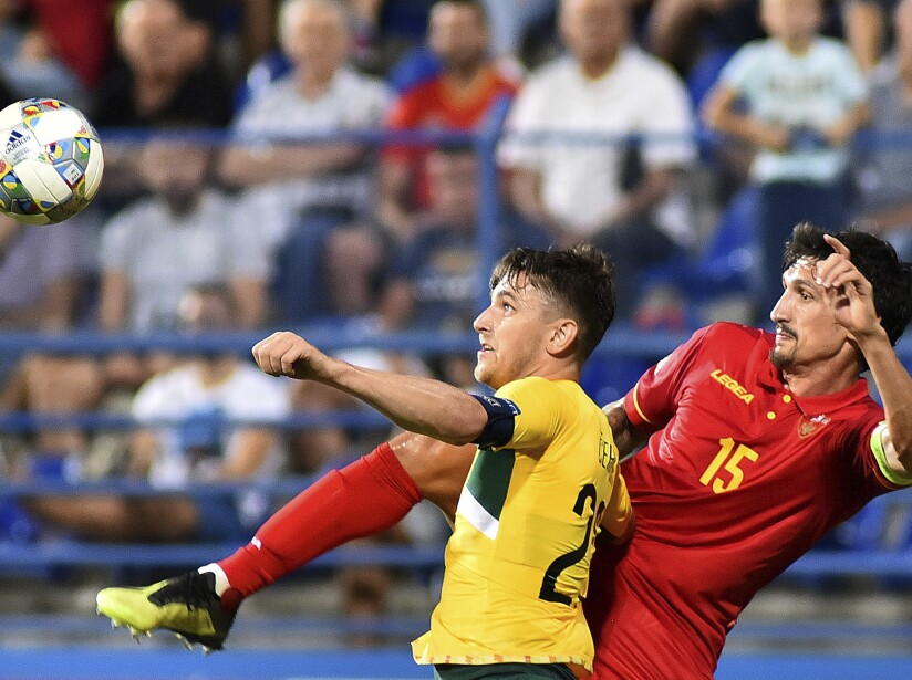 Montenegro Lithuania Nations League Soccer