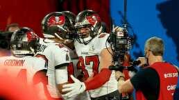 Brady y Gronkowski con sus touchdowns hacen historia en la NFL
