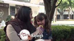 ENTREVISTA: ¡Kayleigh espía a su vecino con su gato!