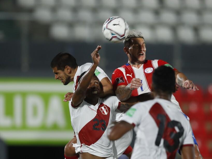 Paraguay Peru Wcup Soccer