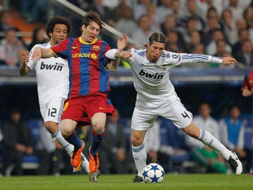 Sergio Ramos, Marcelo, Lionel Messi