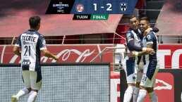 Rayados triunfa en el infierno al vencer a Toluca 1-2