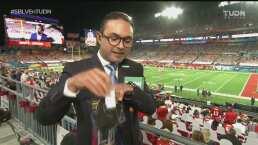 Todos los aficionados en el Super Bowl recibieron un kit de protección