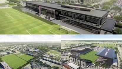 A través de sus redes sociales, el Inter de Miami dio a conocer las instalaciones deportivas del equipo.