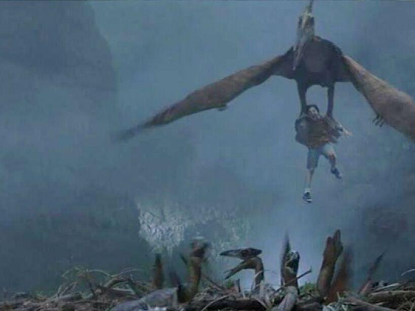Pterodactylus (Jurassic Park 3): su nombre significa dedo alado, vivió en Europa y África a finales del Jurásico.