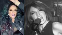 Erika Buenfil enamora con su cabellera negra al cantar al ritmo de '¿A quién le Importa?' de Thalía