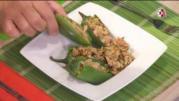 Receta: ¡Deliciosos chiles jalapeños rellenos de minilla!