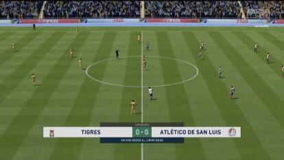 Luis Reyes y Julián Quiñones nos regalaron un vibrante 2-2 en su debut de la eLiga MX.