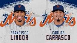 New York Mets se refuerzan con Francisco Lindor y Carlos Carrasco