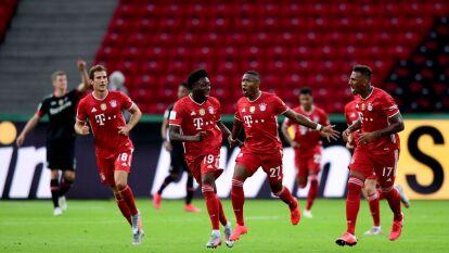 Bayern Munich derrotó en la final de Copa al Leverkusen   Los bávaros derrotaron 4-2 al Leverkusen y suman un nuevo título a sus abarrotadas vitrinas.