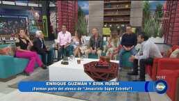 Los invitados de honor: Enrique Guzmán y Erik Rubín