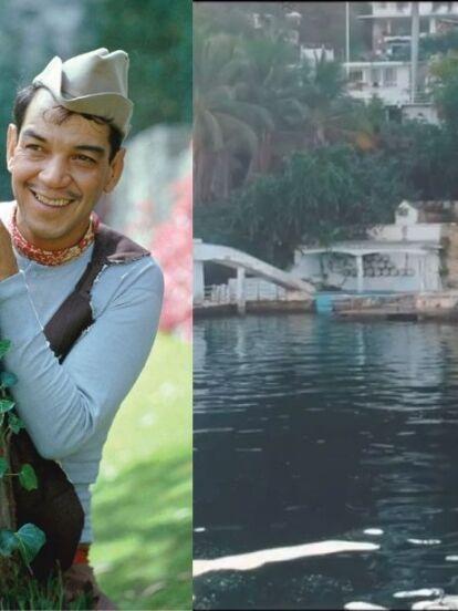 Tras destaparse el estado en el que se encontraba la mansión de Luis Miguel en Acapulco, se hicieron virales otros videos en los que tiktokers mostraron cómo lucía la lujosa casa de Cantinflas en el puerto, la cual actualmente está abandonada.