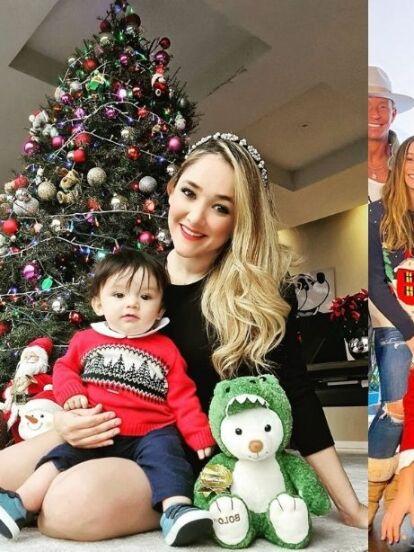 A unos días de celebrar la Navidad, el espíritu decembrino se apodera de los hogares de los famosos, quienes han presumido la decoración de sus árboles y ahora están causando revuelo al lucir los tradicionales 'ugly sweaters' navideños.